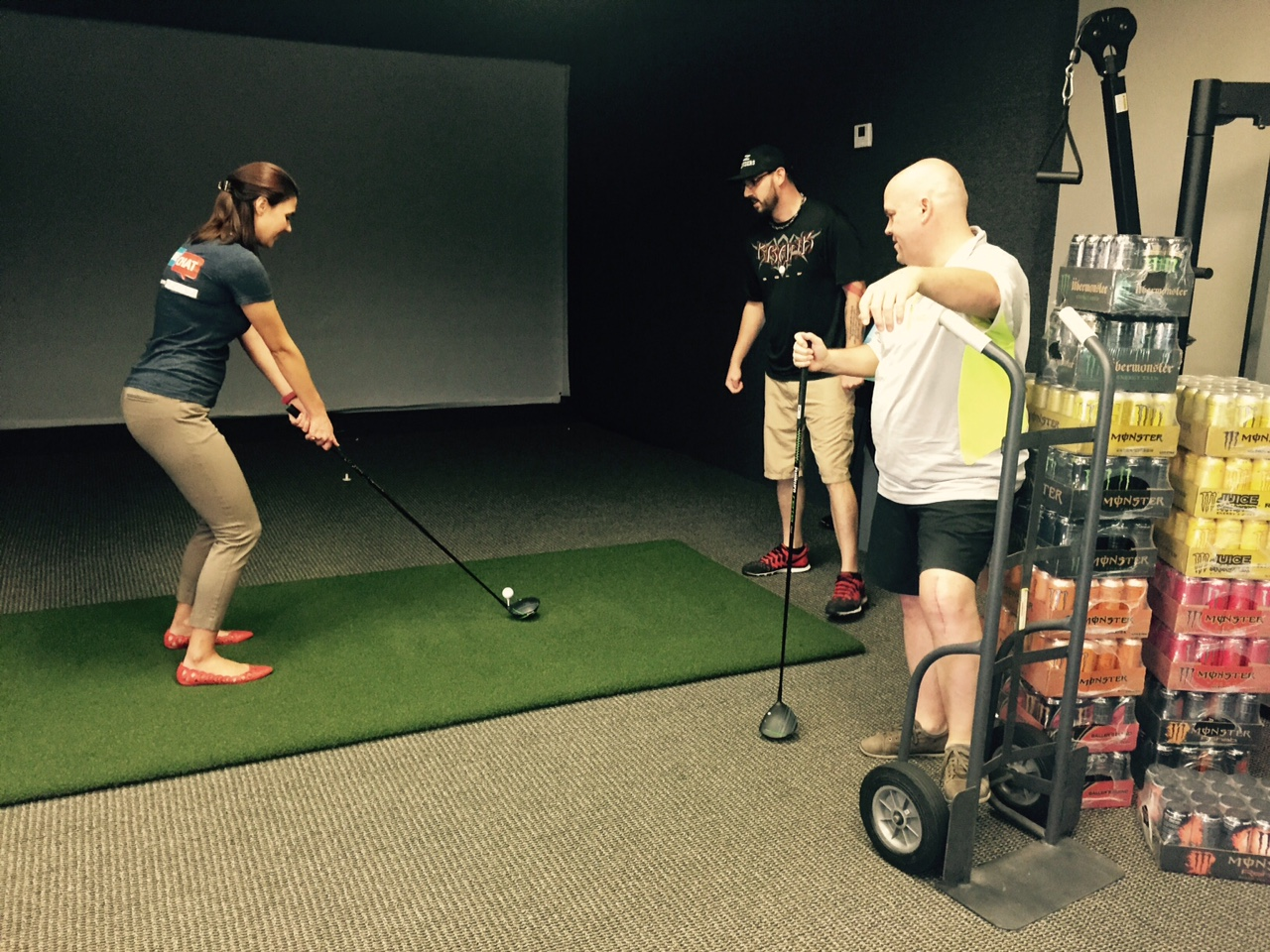 Pure Chat is a Hole in One for Krank Golf