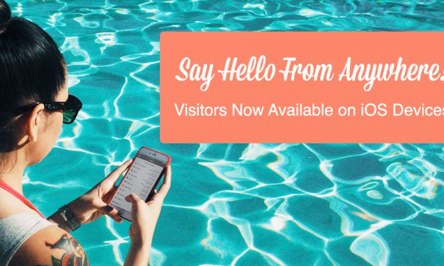 Engage Your Website Visitors from Anywhere