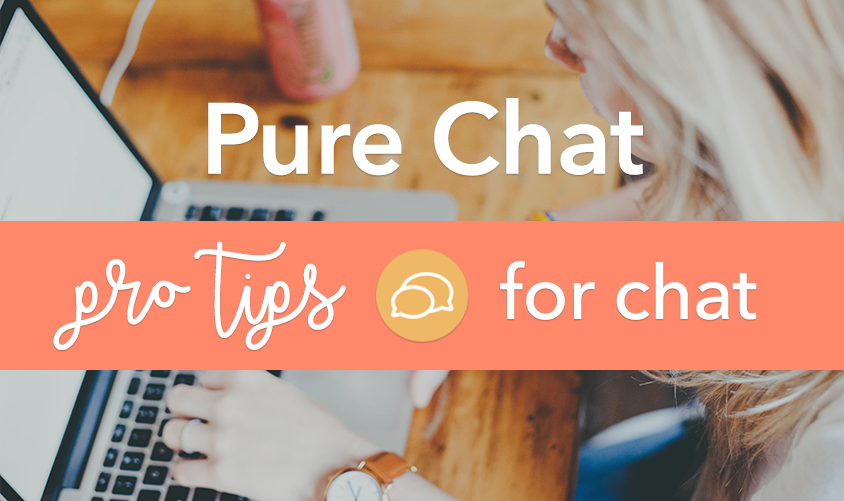 Pure Chat Pro Tips: Chatting with Website Visitors