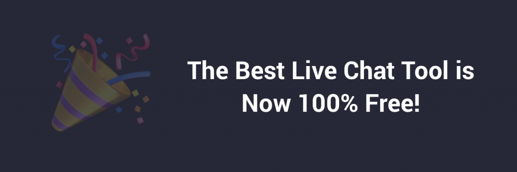 The Best Live Chat is Now 100% Free