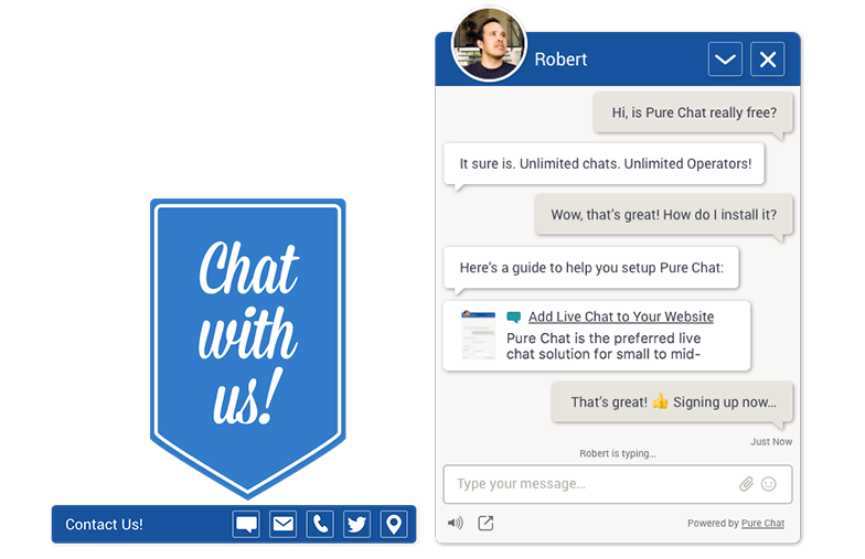 Customize your Pure Chat chat box