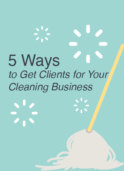 Get clients for your cleaning business