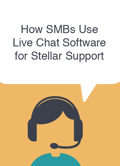 Live chat support software