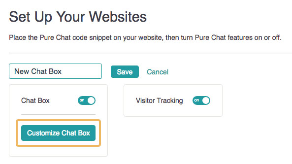 Create a New Chat Box